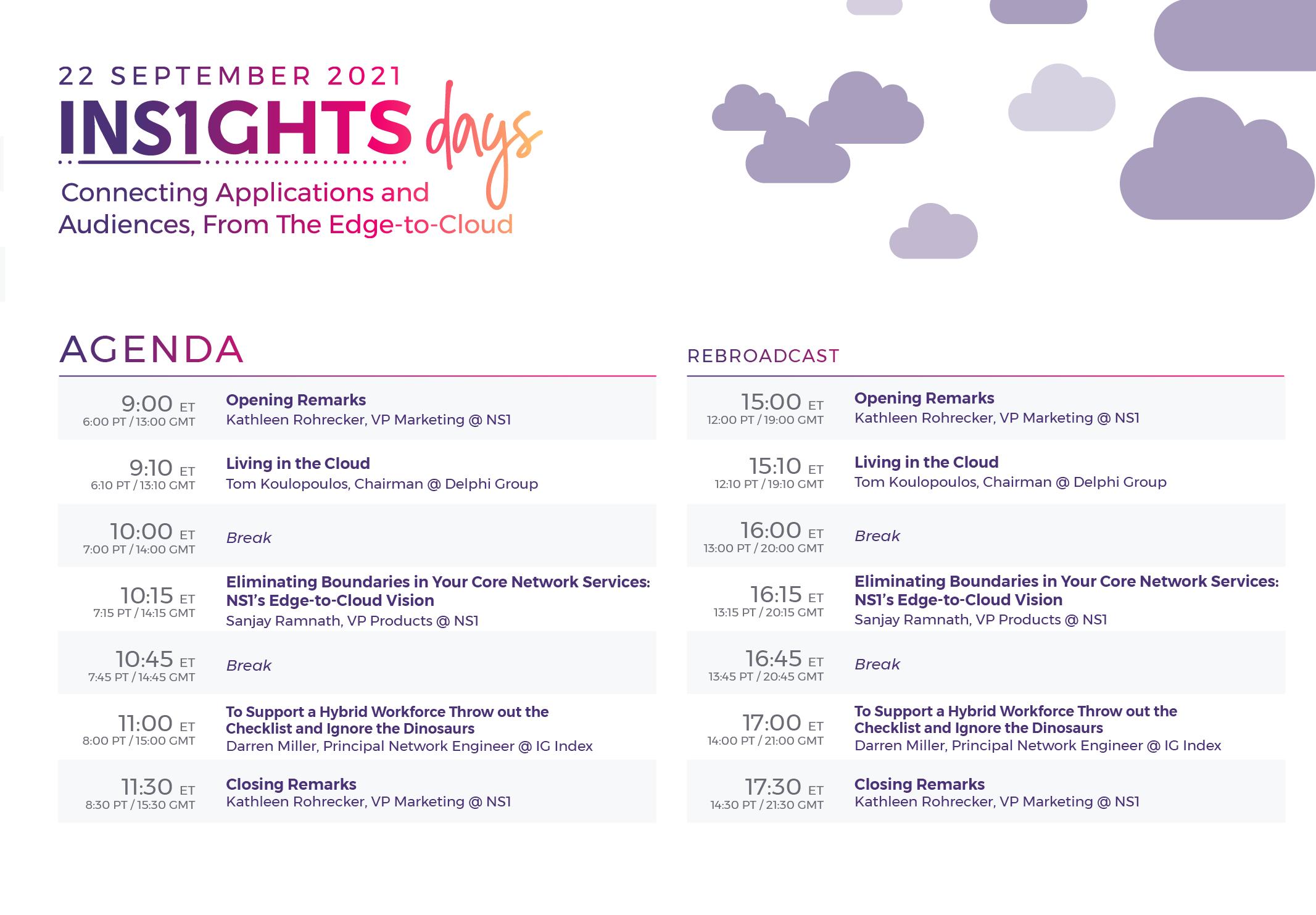2021_INS1GHTS Days September Agenda